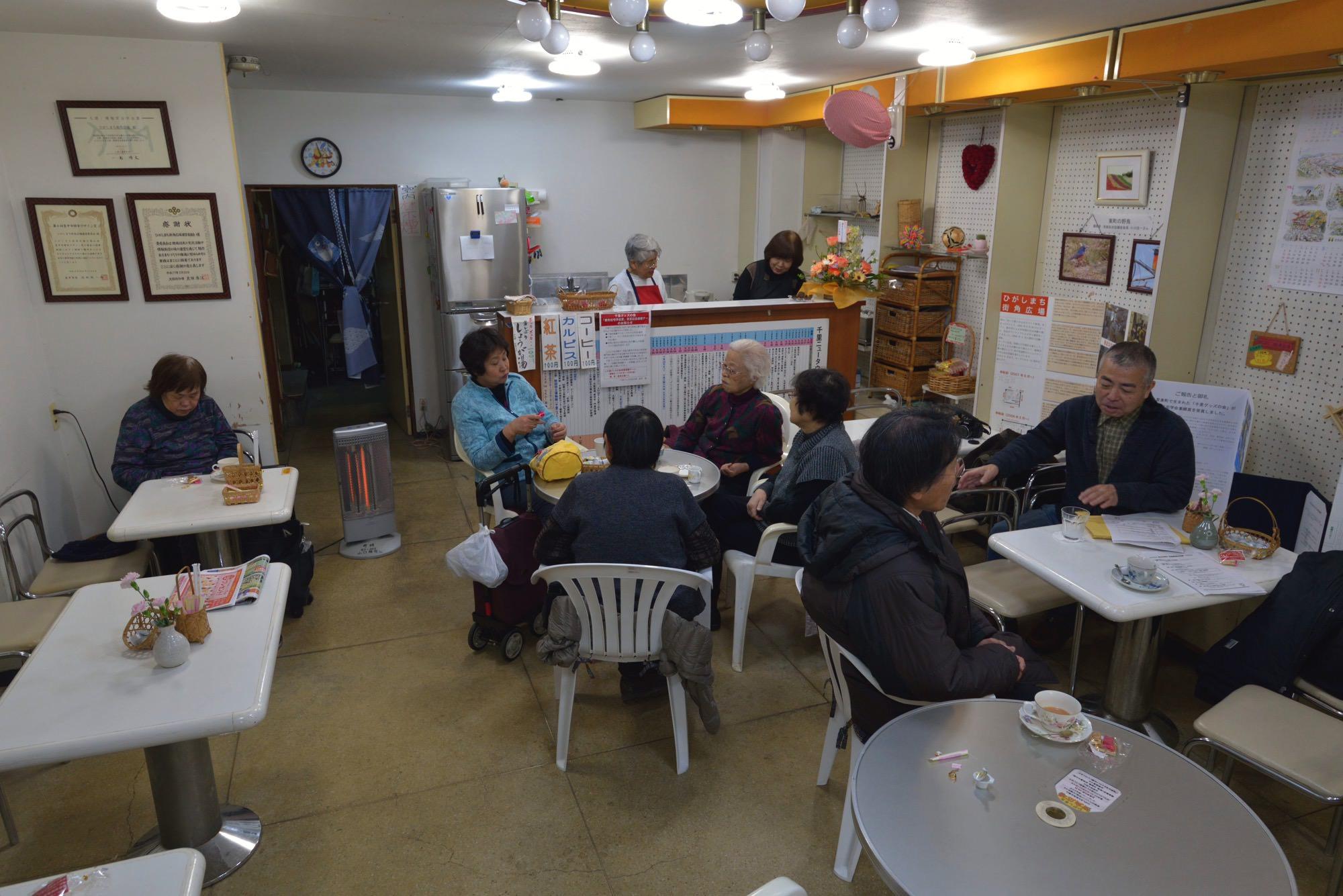 まちの居場所(コミュニティ・カフェ)の運営資金